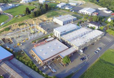 Строительство нового заводского комплекса HOMA